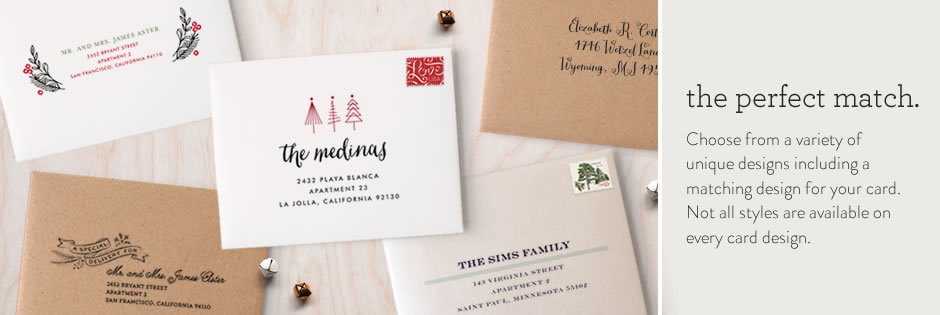 Christmas Cards from Minted - Jodi Byrnes Photography - how to address christmas cards
