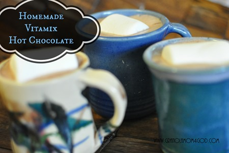 vitamix hot chocolate