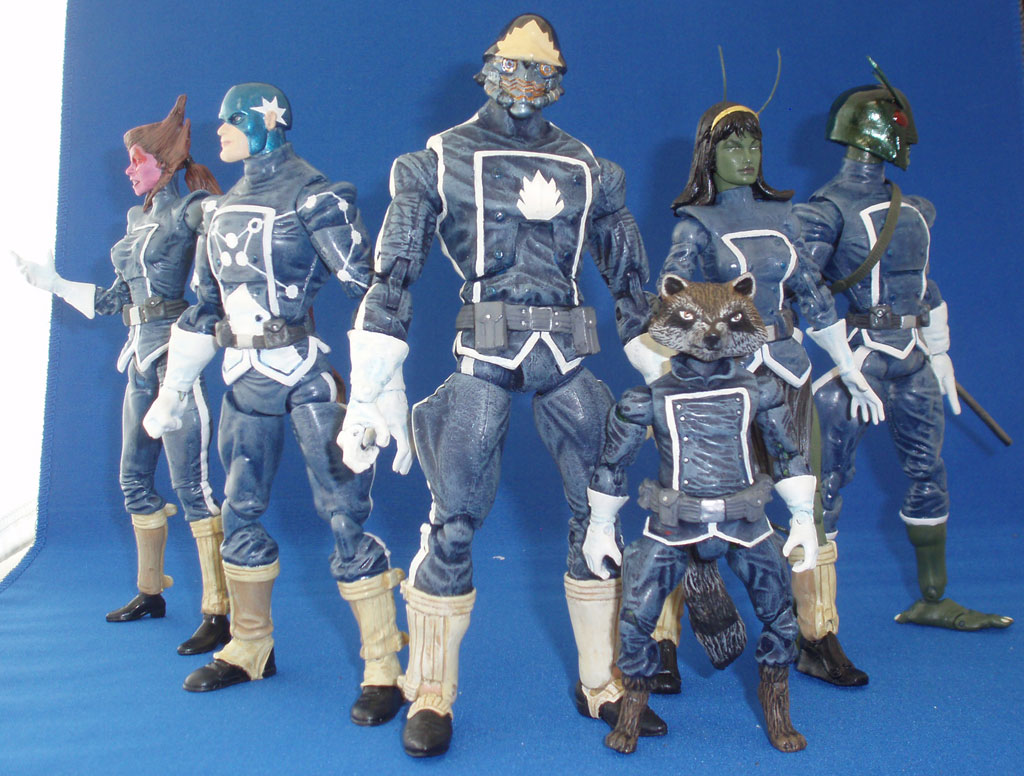 Guardians Of The Galaxy Actionfigures