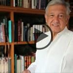 López Obrador presenta un documento de la campaña sucia del PRI en Edomex