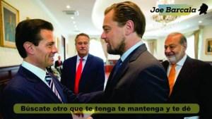 Di Caprio: ¿Crees que Peña y Slim cumplirán su promesa de proteger a la vaquita marina?