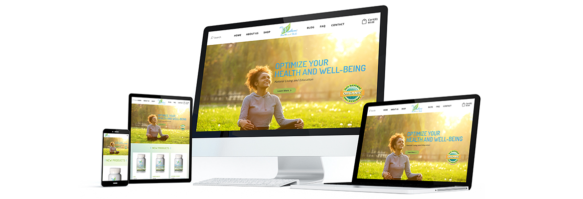 Wisdom Health and Herbs JoeFree Media - Responsive Media