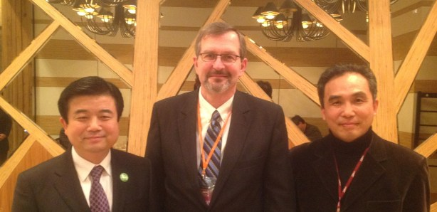 With Lead Pastor & Conference Chairman, Busan, South Korea