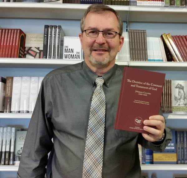 JRB with Cocceius Book