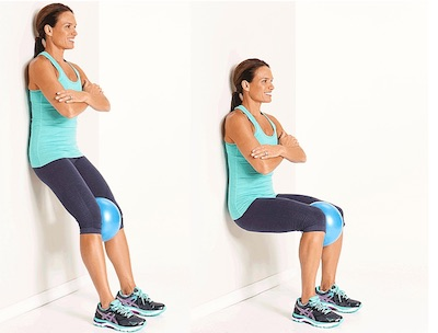 wall-squat-with-medicine-ball-between-knees