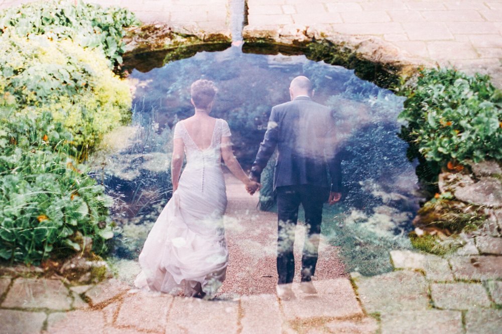 Double Exposure Wedding Photography On CineSill 50