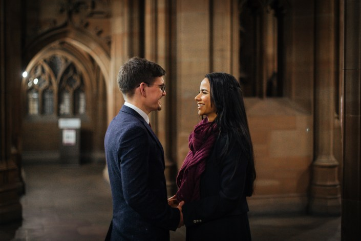John Rylands Library Wedding Portraits