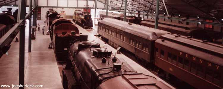 Pennsylvania Train Adventure - June 2000 - frieght conductor