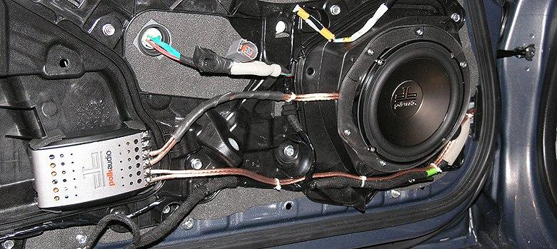 Mazda MX-5 Audio Project with RAAMmat, Polk DB Speakers  Alpine F250