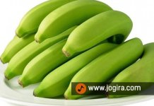 Green bananas health benefits