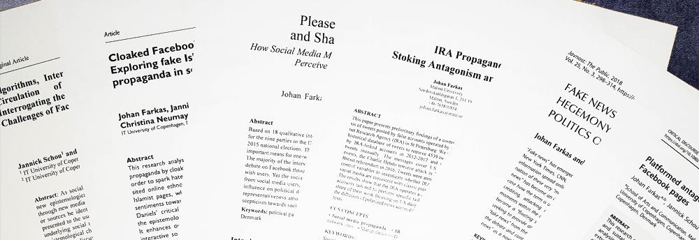 Publications - Johan Farkas