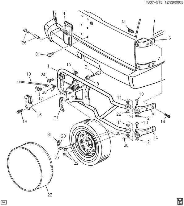 1998 chevy blazer parts diagram chevy 4fkf8
