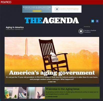 POLITICO Agenda Aging in America Special Report
