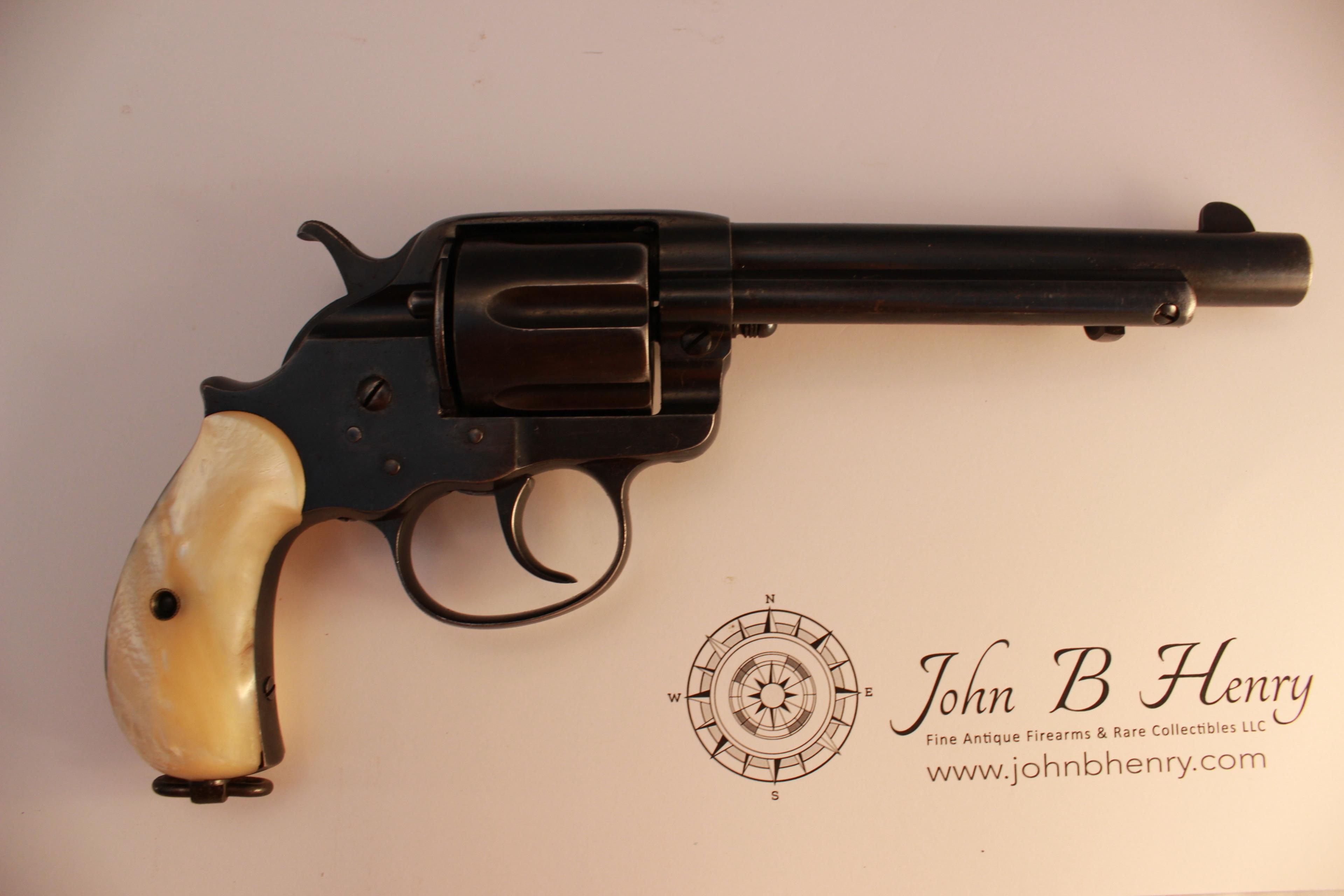 gambler u2019s case with colt model 1878 frontier double action revolver d1153