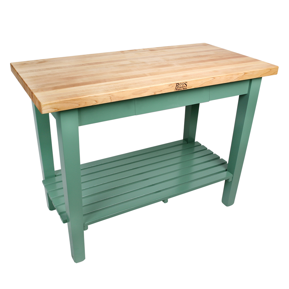 Items page kitchen work tables Boos Blocks Classic Country Work Table 1 3 4