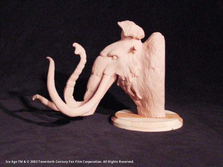 Manfred Concept Maquette, Sculpey