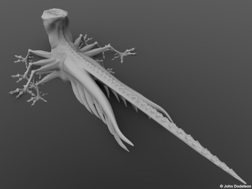 12 Leg Creature: ZBrush