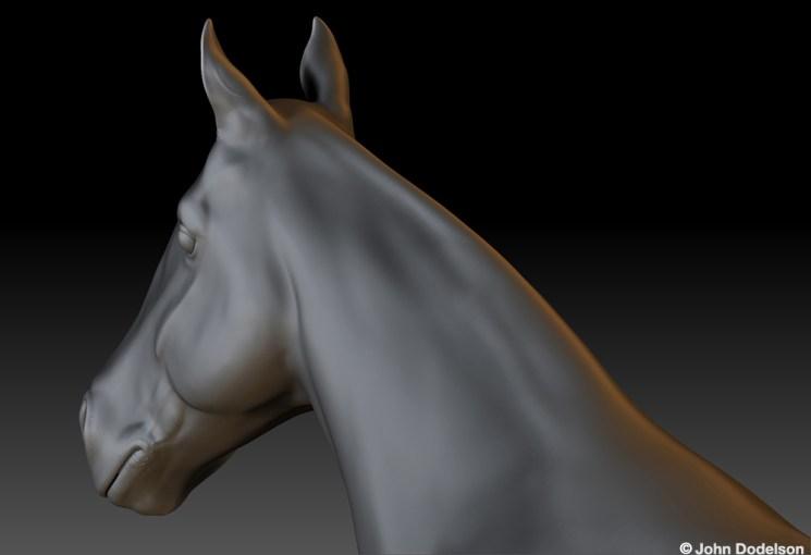 Horse: Maya/ZBrush Model