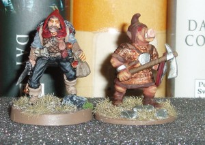 rogue and porcine