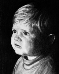 Child Portrait Drawing Commission