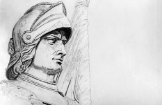 Florence Statue Drawing