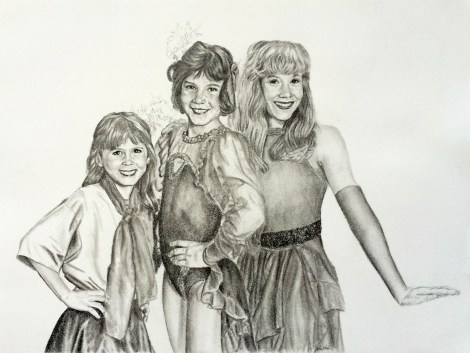 Haines Sisters Drawing
