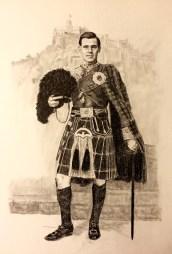 Scottish Soldier Drawing