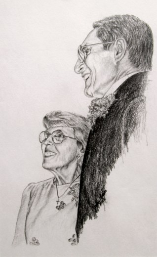 Helen and Bernard Drawing