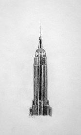 The Empire State Building, New York, Drawing by John Gordon Art