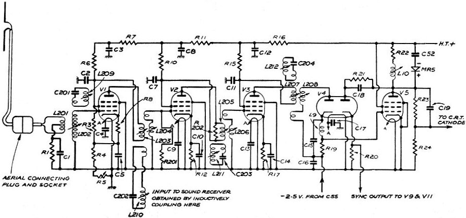 Tube Radio Circuit Diagram - wiring diagrams image free - gmailinet