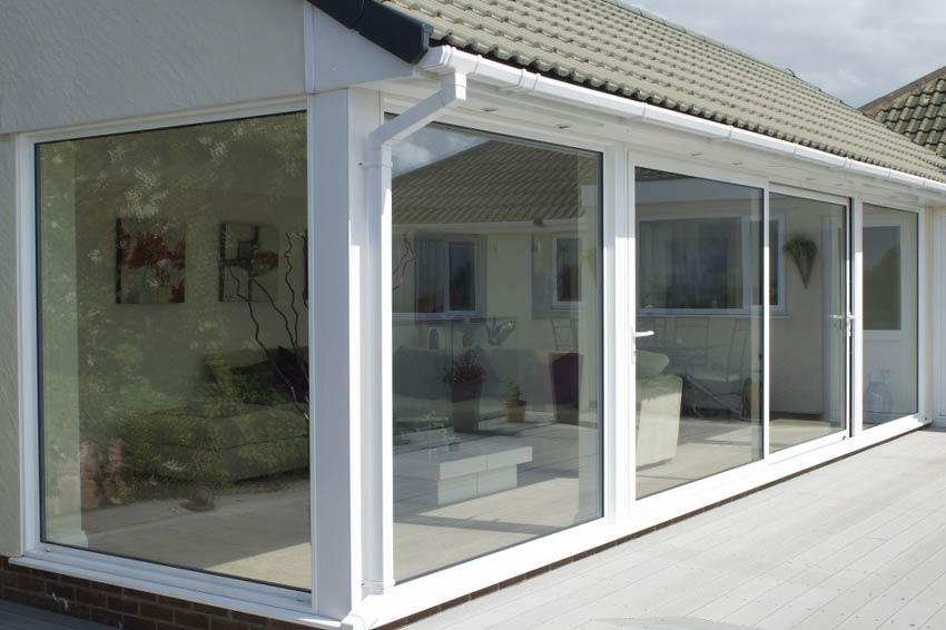 Contemporary Entrance Doors In Aluminium Alu Clad Timber