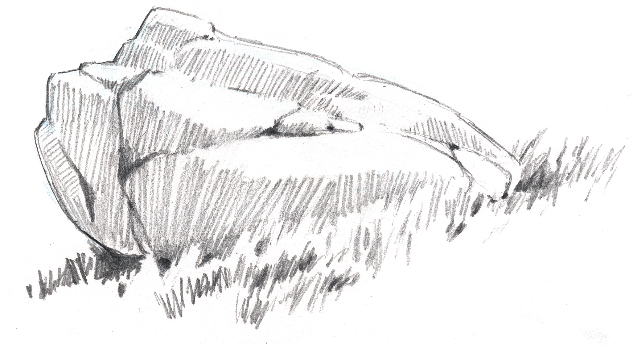 Scribble In Drawing : How to draw rocks john muir laws
