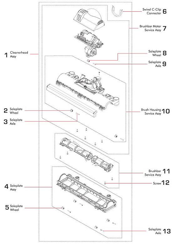 Dyson Vacuum Wiring Diagram circuit diagram template