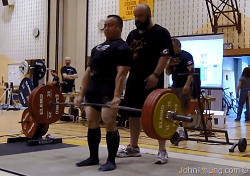 2013 CPF Amateur Powerlifting Championships  Deadlift 3rd Attempt  255 Kg  562.2 lb
