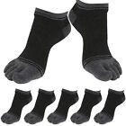 5 Pairs Lot Mens Low-Cut Toe Socks