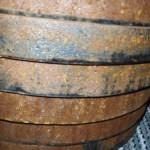 Rusty York 45lb Plates