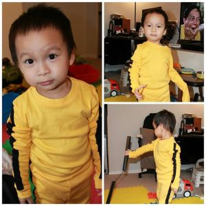 Halloween costume COMPLETE gameofdeath brucelee shaolinsoccer halloween
