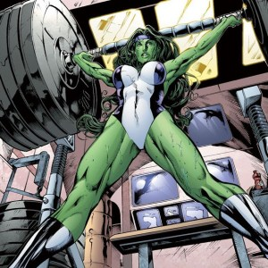 Nice...uh...OHP you got there, She-Hulk. Btw, it looks like the…