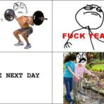Squats: The Next Day