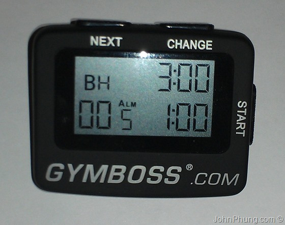 Gymboss Interval Timer Review