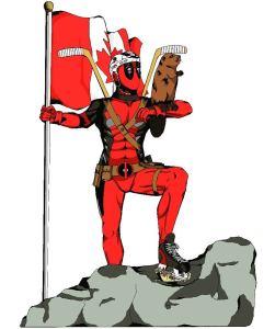 Happy Canada DEH deadpool justicebeaver canadaday canada150