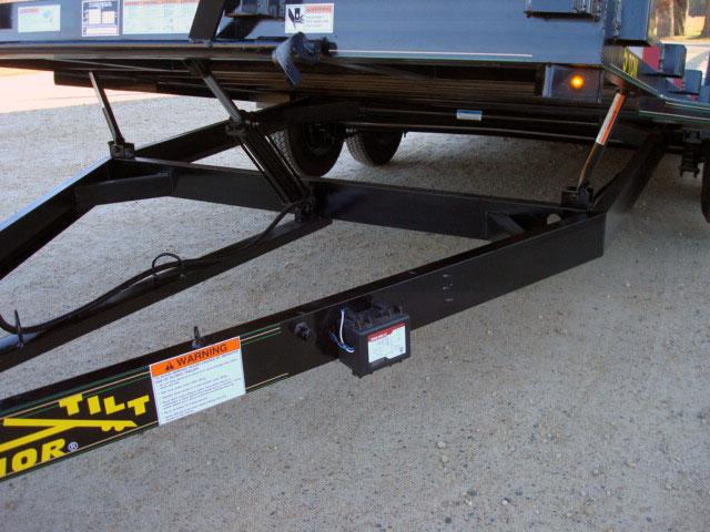 5 Ton Car  Equipment Tilt Bed Trailer - Johnson Trailer Co