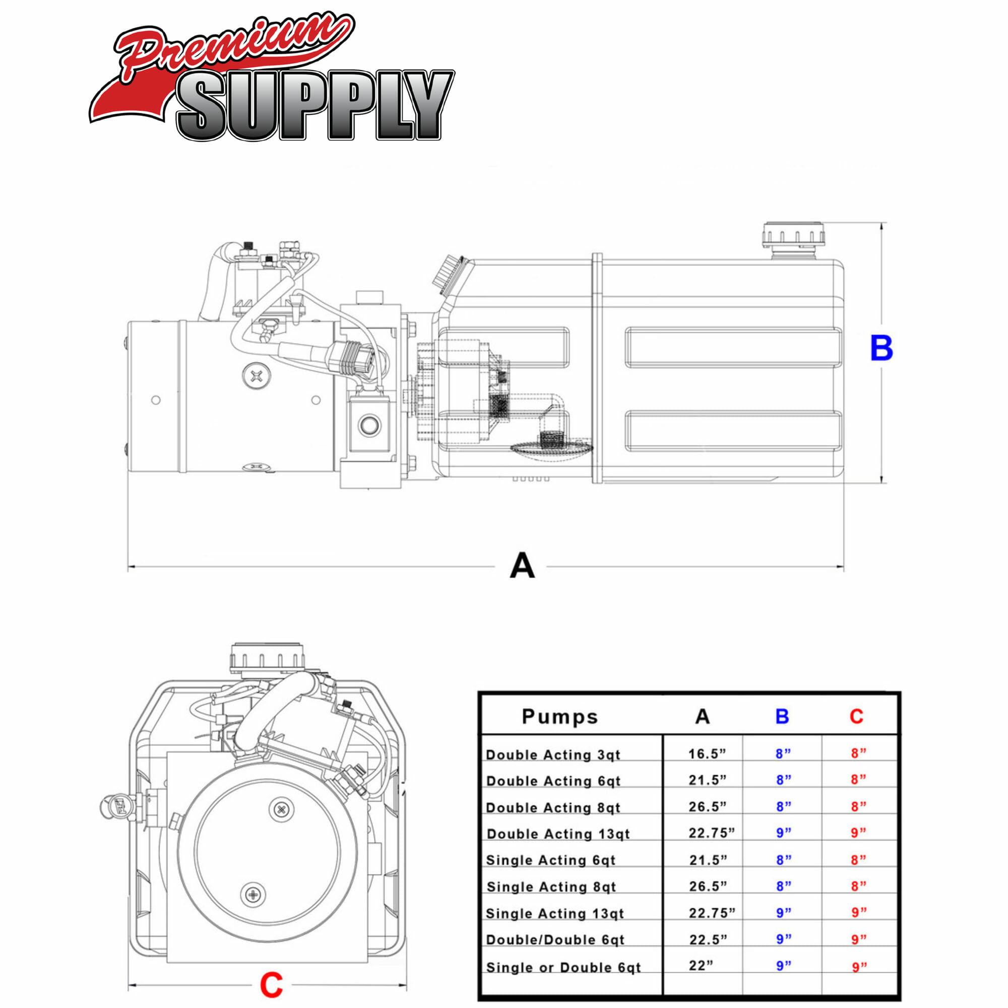 3 wire hydraulic dump trailer wiring diagram