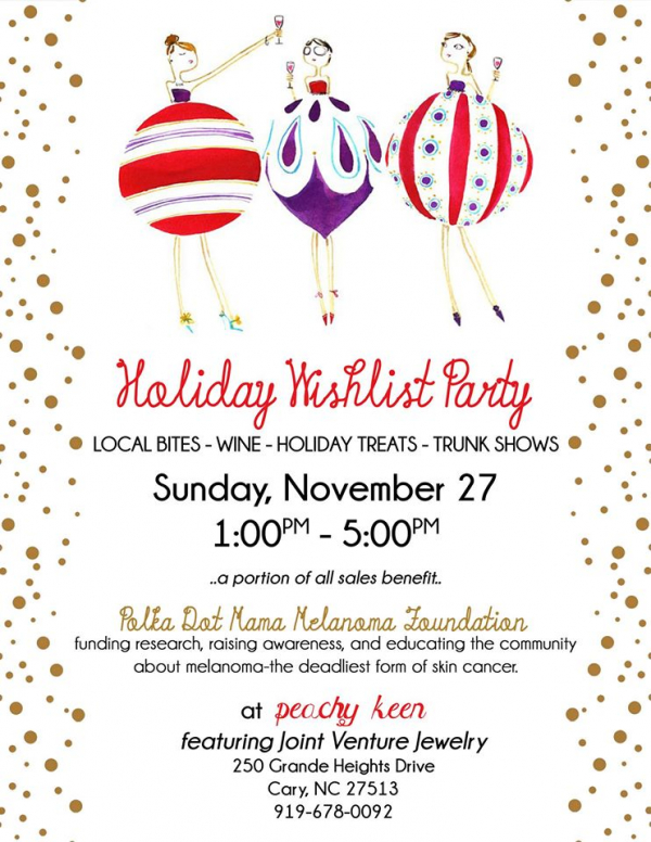 Holiday Wishlist Party 2016 Joint Venture Jewelry Blog - Cary