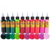 Eternal Tattoo Ink Floral 10 Color Set | Joker Tattoo Supply