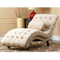 Tufted Chaise Sofa Bedroom Cly Chaise Lounge Couch Tufted ...