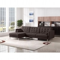 Modern Tufted Sectional Sofa With Chaise Metropolis Design ...