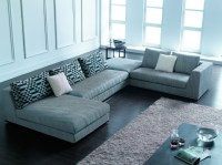 Blue Sectional Sofa with Chaise | Chaise Design