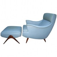 Kagan Mid Century Modern Chaise Lounge Chair Photo 18 ...