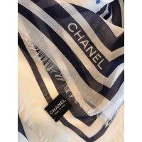 Chanel Scarf Scarves Cashmere Cream ref.36812 - Joli Closet